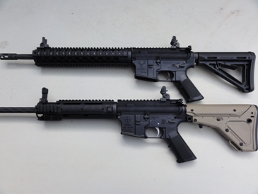 YHM uppers and Magpul stocks