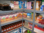 Food stockpiled for survival